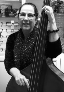 Sheryl Doe Dispensing Optician of the year 2019- String Bassist - The Musicians Optician Allegro Optical Specialist music glasses