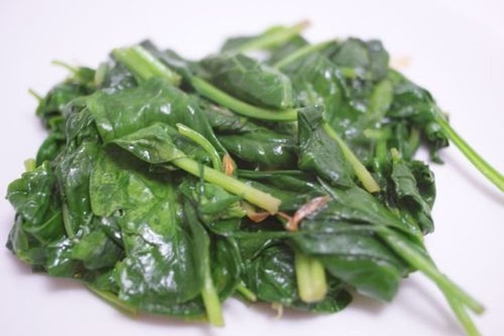 cooked spinach, its National spinach day