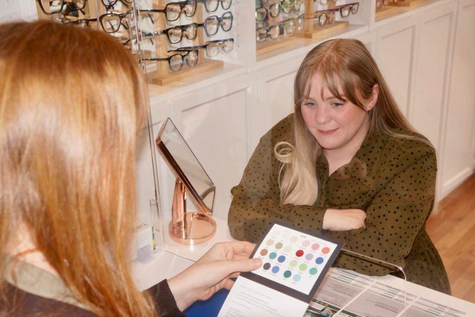 Eyewear styling with Allegro OPtical